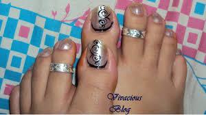 black nail art u2013 easy nail art