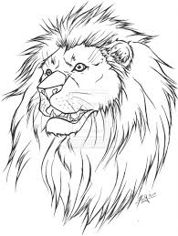 tribal leo lion tattoo design photos pictures and sketches