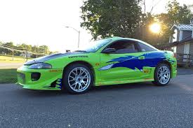mitsubishi eclipse fast and furious fan turns mitsubishi eclipse into fast and furious tribute