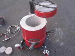 homemade propane foundry furnace metal aluminium tutorial how to
