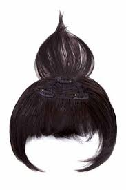 clip on bangs modern fringe clip in bangs by hairdo wigs
