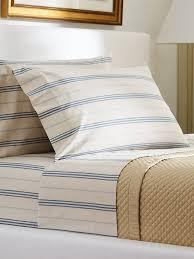 amazon com ralph lauren isla menorca stripe queen flat sheet