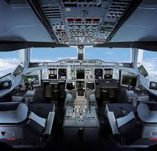 Airbus A 380 Interior Airbus A 380 Cockpit Image Military And Commercial Aircraft