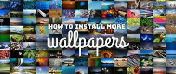 inswall wallpapers how to install more wallpaper packs on fedora workstation fedora