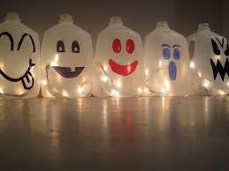 halloween milk jug crafts halloween milk jugs