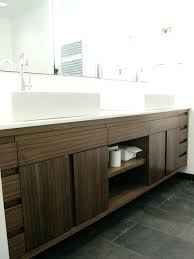 Floating Bathroom Vanities Sinks Double Sink White Bathroom Vanity 60 Floating 48 Double