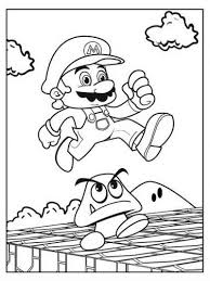 super mario coloring pages digi u0027s u0026 stamps