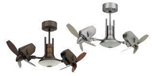 twin star ii ceiling fan dual oscillating ceiling fan 3652 regarding dual fan ceiling fan