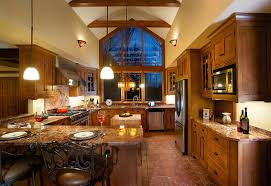 mission style kitchen cabinets craftsman style kitchens in small