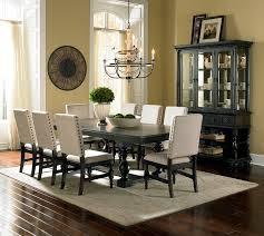 black wooden dining table set dining room fair designs with fabric covered dining room chairs