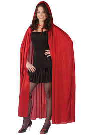 Cloak Halloween Costumes Men Nocturnal Count Vampire Costume Red Riding Hood Costume