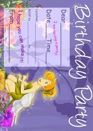 tinkerbell party invitations u2013 gangcraft net