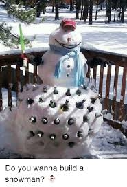 Snowman Meme - do you wanna build a snowman do you wanna build a snowman
