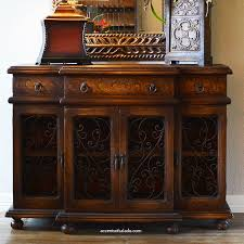 Tuscan Dining Room Decor by Hand Painted Buffet Foyer Chest At Accents Of Salado See Details