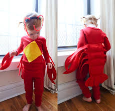 lobster costume no sew diy lobster kids costume primary