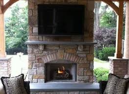 8 fireplace on deck outdoor fireplace on deck log home pinterest