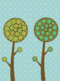 floral trees