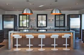 large kitchens with islands modern large kitchen island with bar seating sathoud decors