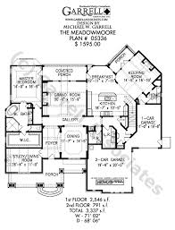 Cottage Style Home Floor Plans Meadowmoore Cottage House Plan House Plans By Garrell Associates