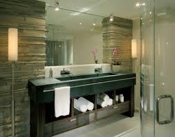 Mirror Bathrooms Brick Bathroom Design Brick Bathroom Bathroom Designs And Sinks