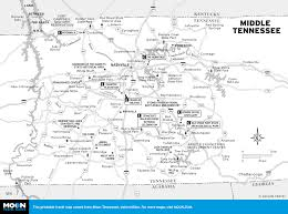 Tennessee County Map With Cities by Map Map Of Towns In Tennessee