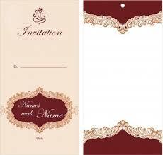 wedding invitation card design template wedding invitation card design template free download