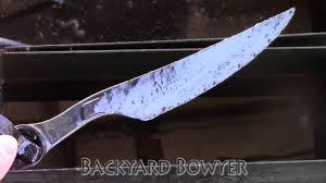 Backyard Blacksmithing Blacksmithing Making A Fallout 4 Inspired Wrench Knife