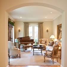 French Country Family Room Ideas by French Country Sofa Family Room Traditional With Arch Doorway