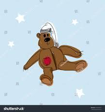 sketch toy bear teddy bear toy stock vector 753927877 shutterstock