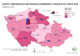 Map Of Czech Republic Basic Characteristics In Thematic Maps Methodic Support Of