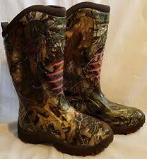 s muck boots size 11 muck wps rtx4 s pursuit stealth boots realtree apg