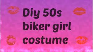 Halloween Costumes Biker Diy Biker Costume