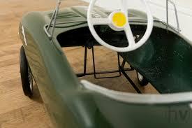jaguar d type pedal car vintage retro jaguar e type tri ang pedal car restored ebay