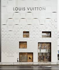 flashy louis vuitton store in tokyo displaying original pattern collect this idea jun aoki louis vuitton store japan