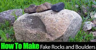 Artificial Garden Rocks Chic Ideas Boulders For Landscaping Faux Landscape Rocks