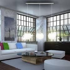 Wohnzimmer Esszimmer Modern Deckenleuchte Deckenlampe Wohnzimmer Esszimmer E14 Glas Nickel