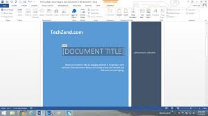10 best images of creating cover page in word microsoft word