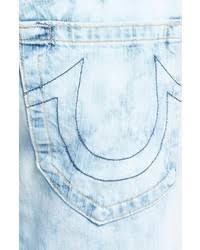 light blue true religion jeans true religion brand jeans geno cutoff denim shorts where to buy