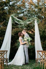 wedding arches and arbors simple wedding arbor with greenery simple weddings arbors and