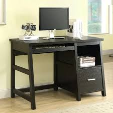 Tall Computer Desk With Shelves Compact Computer Desk Solid Wood Small Computer Desk With Printer