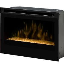 dimplex 25 inch self trimming electric firebox glass embers