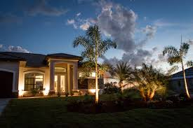 Custom Landscape Lighting by Outdoor Lighting Fort Myers Parsons Landscaping
