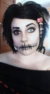 easy face makeup for halloween pretty freakin awesome halloween makeup u003c3 costumes