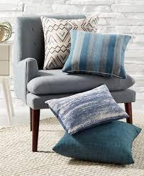 decorative pillows bed hallmart collectibles globetrotter blue decorative pillow