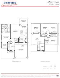Dr Horton Floor Plans by Maurepas Spring Brook Baton Rouge Louisiana D R Horton