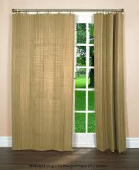 Bamboo Curtains For Windows Bamboo Ring Top Curtain Brp05 Window Panel 40 By 84