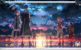 theme google chrome sword art online sword art online 09 1920x1080 chrome web store