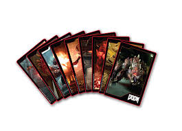gamestop doom foil cards the pre order