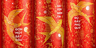 beautiful redesign for coca cola in celebration of the lunar new year