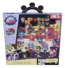 amazon com littlest pet shop collector party pack toys u0026 games